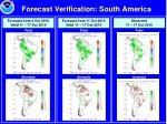 forecast verification south america