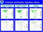 forecast verification southern africa
