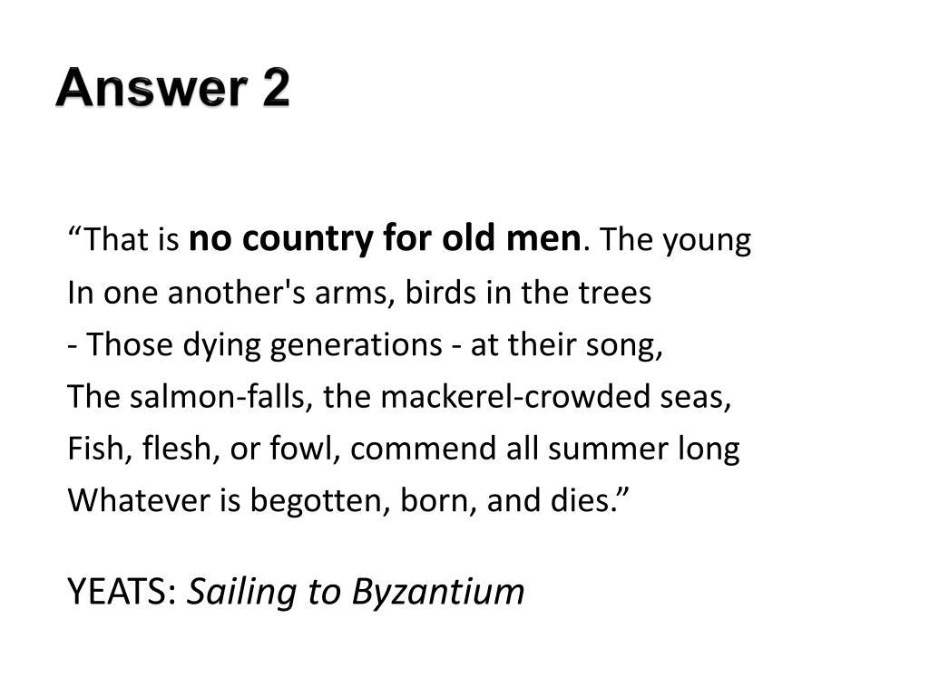 yeats byzantium