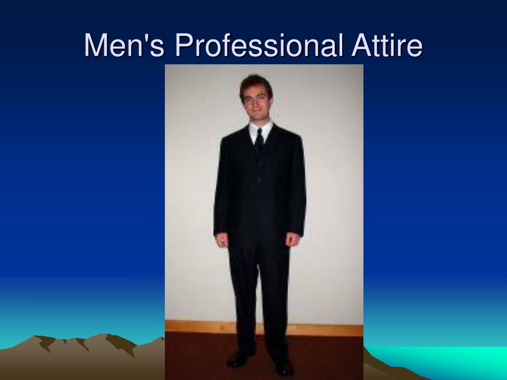 Men's Professional Attire