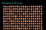 database of 3d faces
