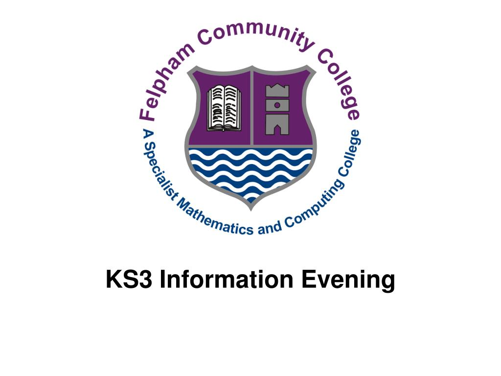 ks3 information evening l.