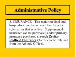 administrative policy2