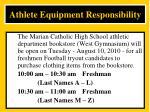 athlete equipment responsibility12