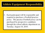 athlete equipment responsibility3