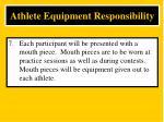 athlete equipment responsibility7