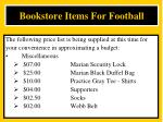 bookstore items for football3