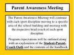 parent awareness meeting3