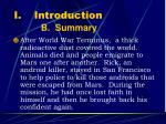 introduction b summary