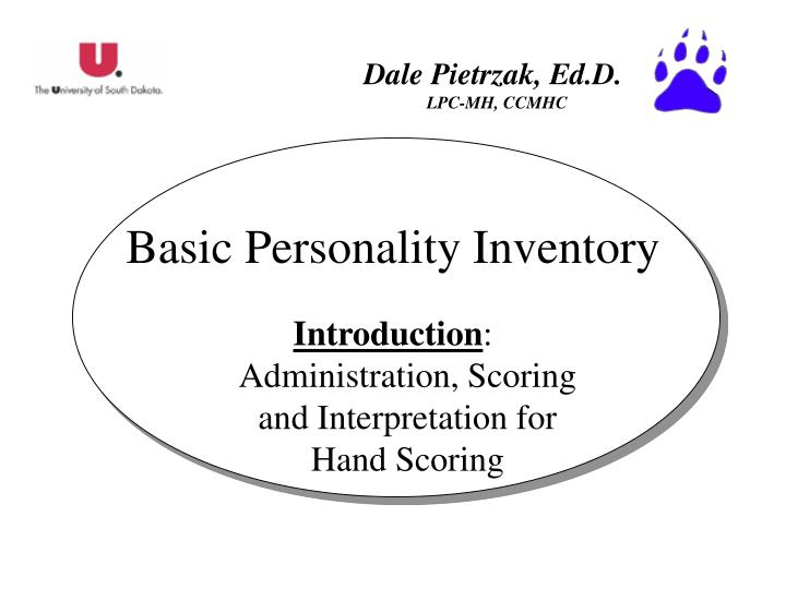 basic personality inventory n.