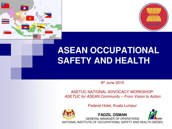 asean occupational safety and health n.