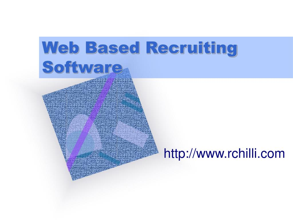 web based recruiting software l.