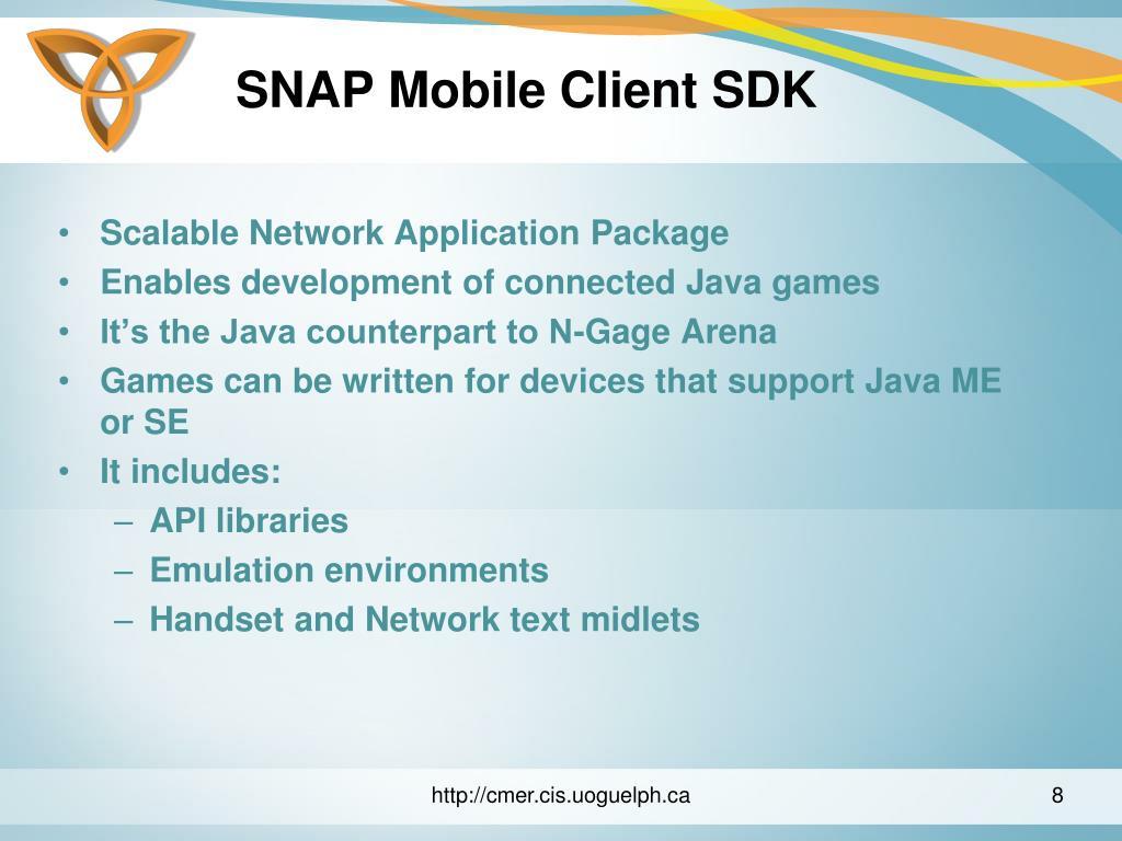 SNAP Mobile Client SDK