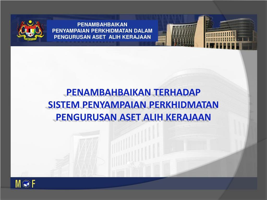 Ppt Analisa Laporan Tahunan Pengurusan Aset Alih Kerajaan Powerpoint Presentation Id 1220351