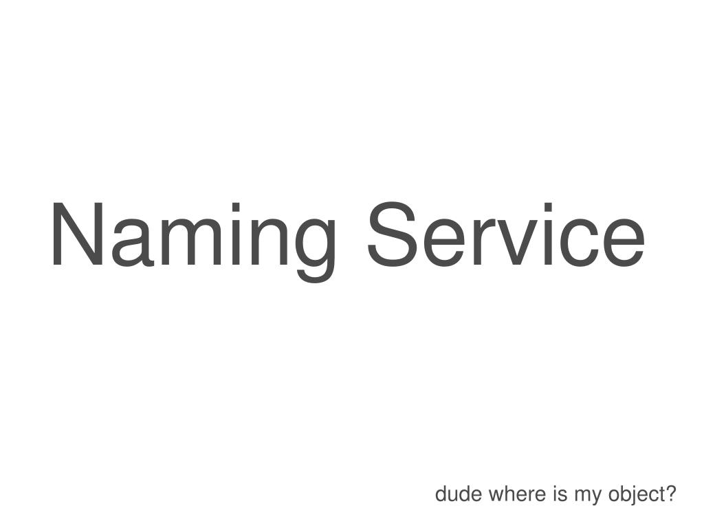 Naming Service
