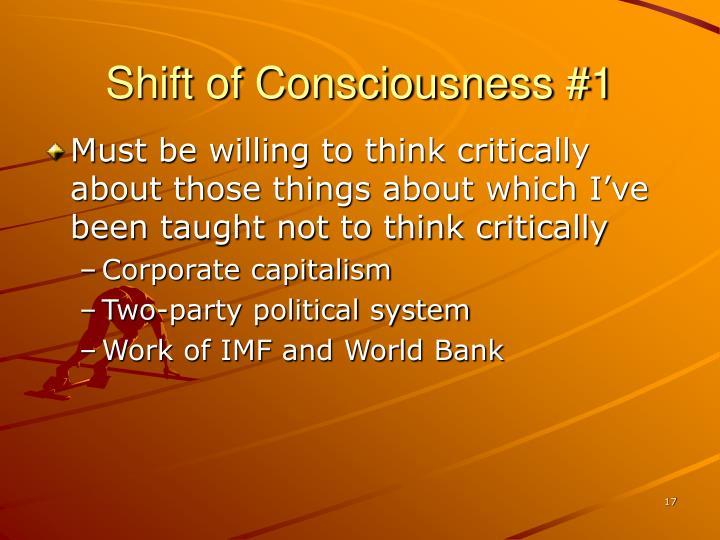 Shift of Consciousness #1