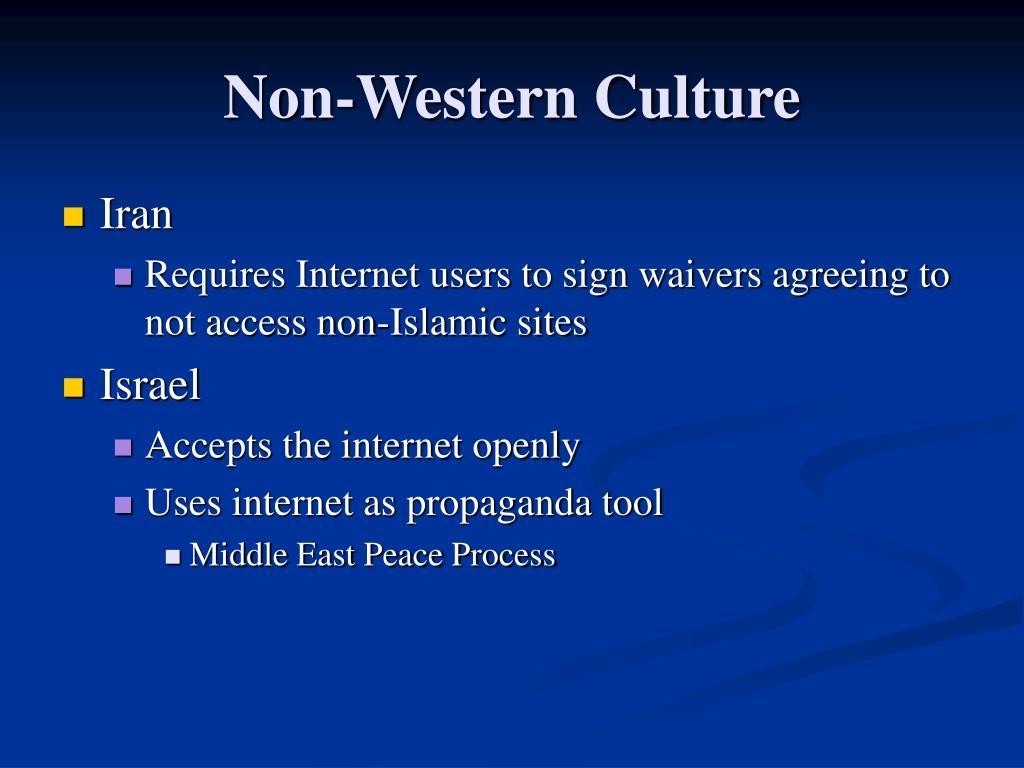Non-Western Culture