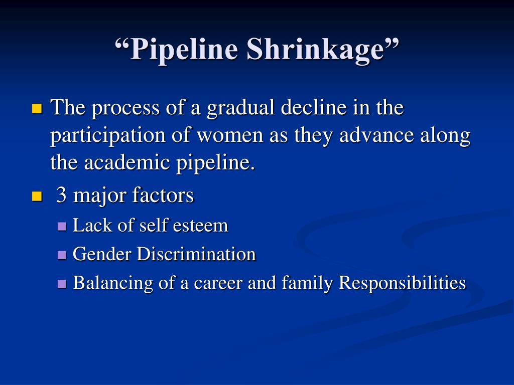 """""""Pipeline Shrinkage"""""""