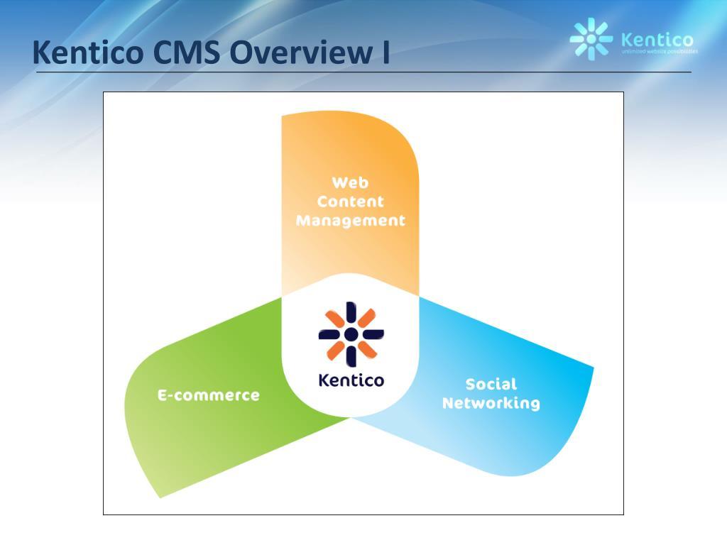 Kentico CMS Overview I