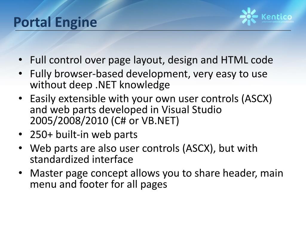 Portal Engine
