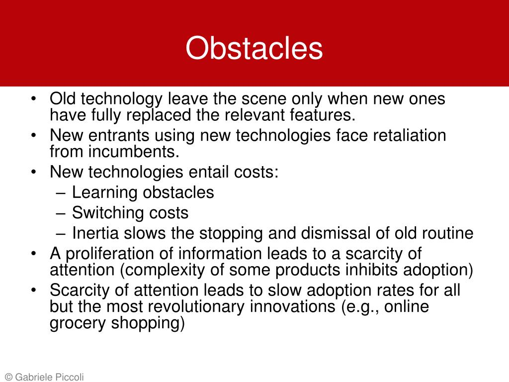 Obstacles