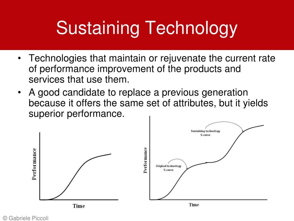 Sustaining Technology