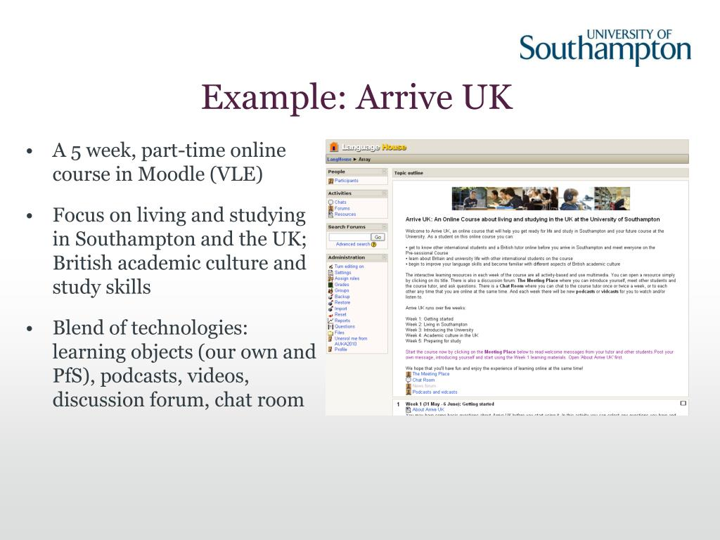 Example: Arrive UK