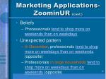 marketing applications zoominur cont