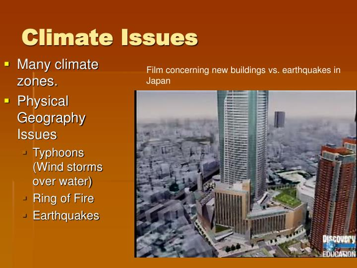 Climate Issues