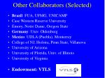 other collaborators selected