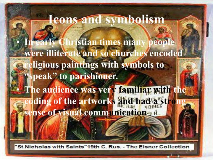 Icons and symbolism