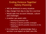ending violence together safety planning1