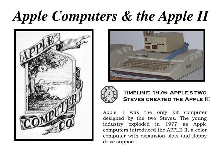 Apple Computers & the Apple II