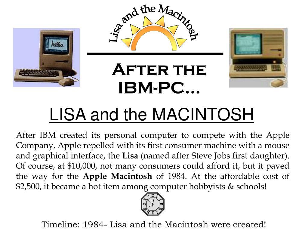 Lisa and the Macintosh