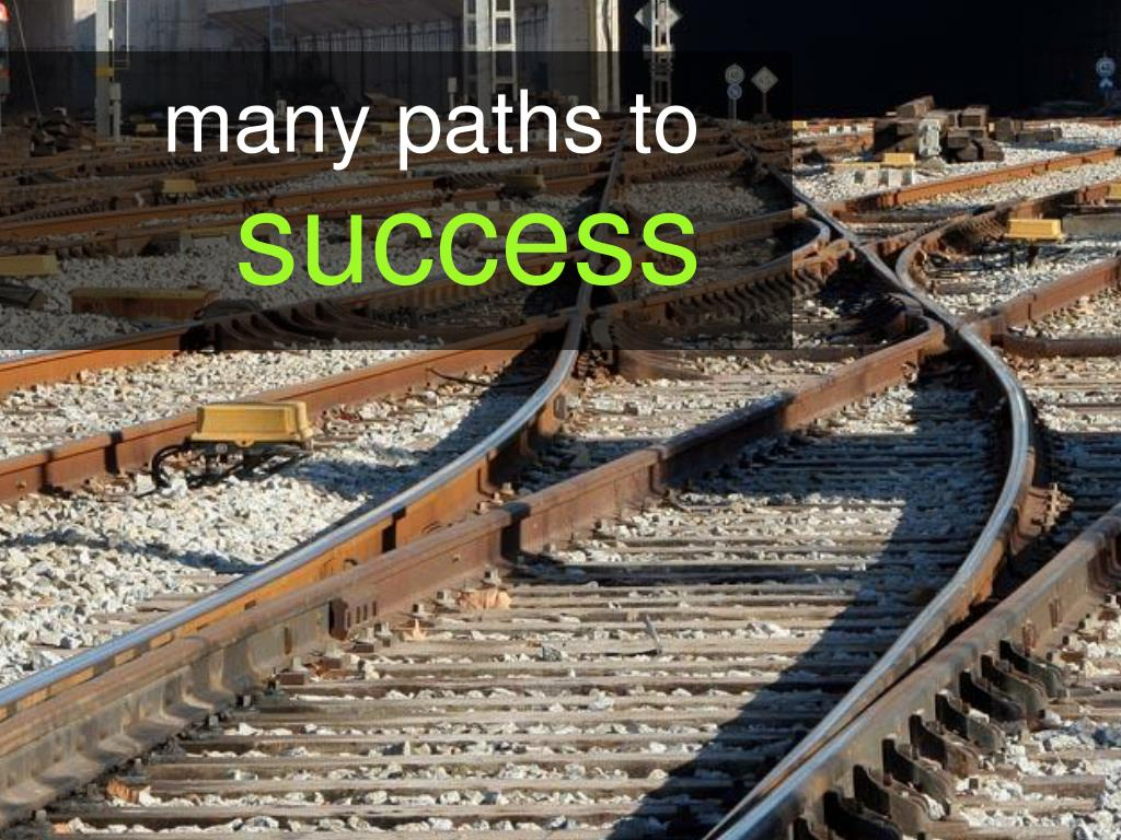 many paths to