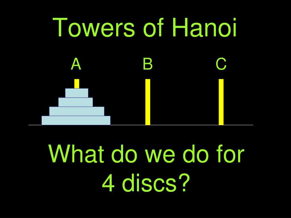 Towers of Hanoi