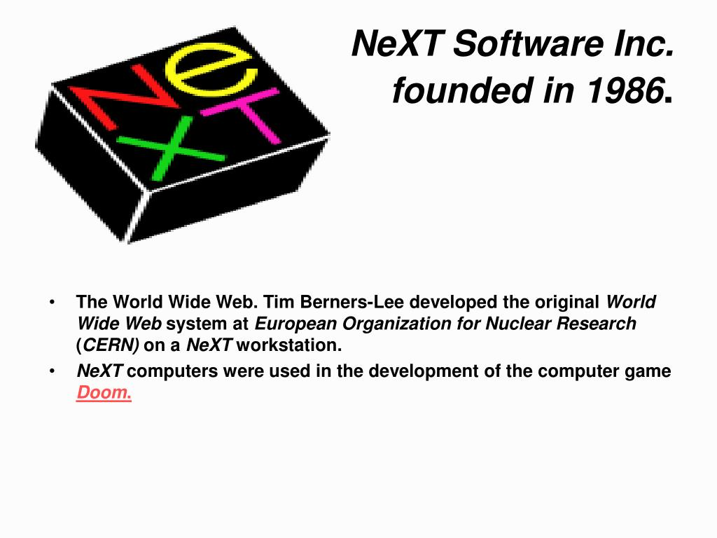NeXT Software Inc.