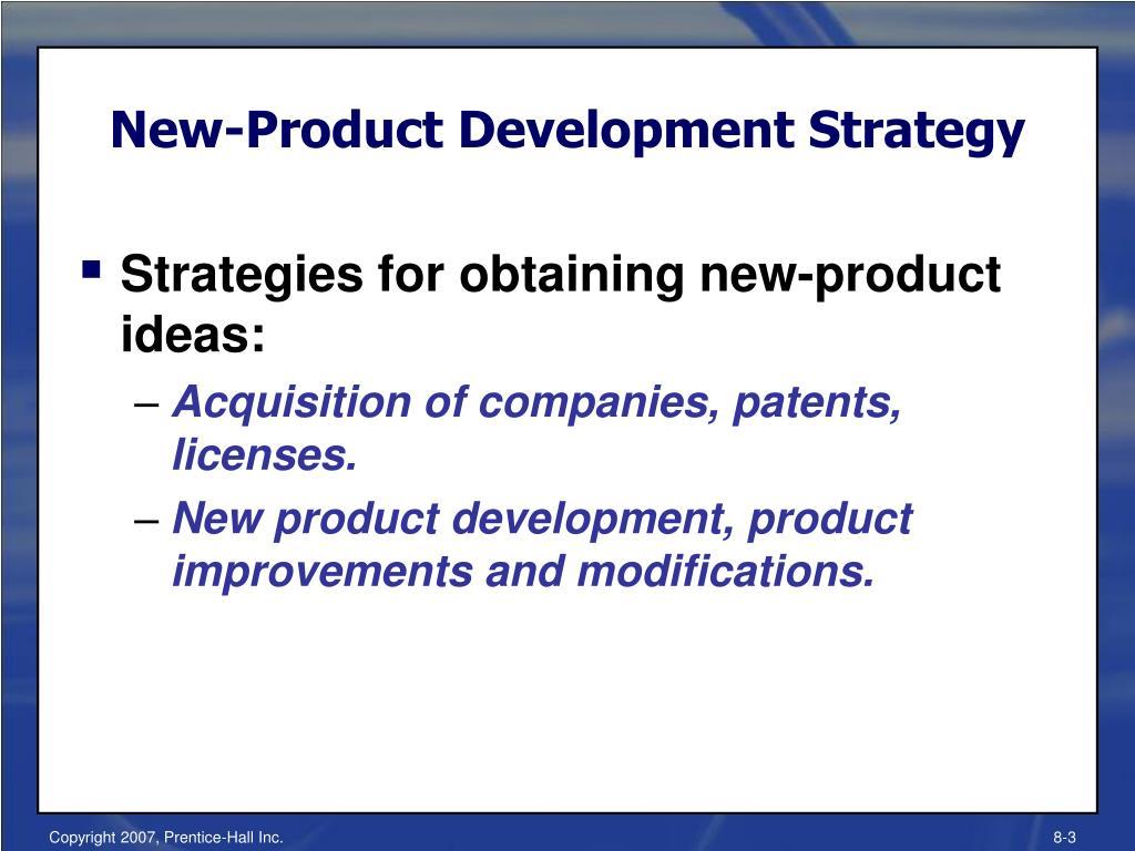 New-Product Development Strategy