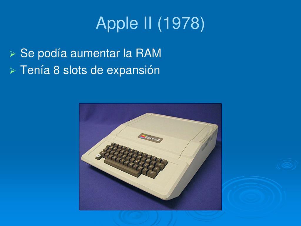 Apple II (1978)