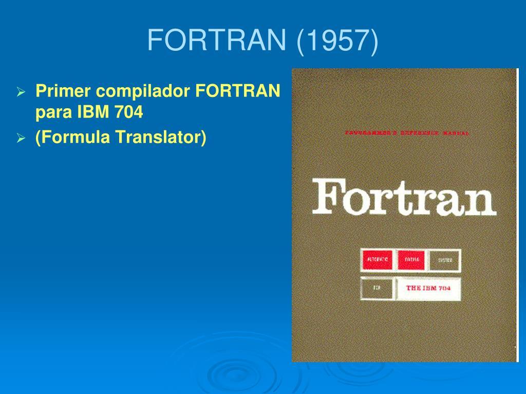 FORTRAN (1957)