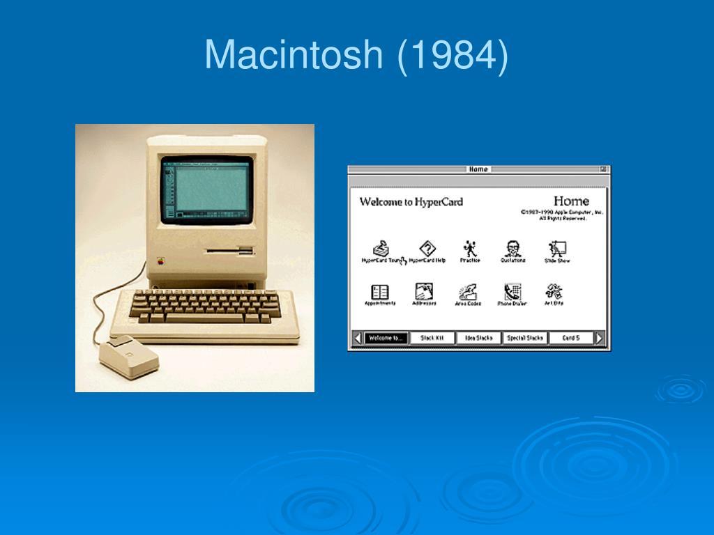 Macintosh (1984)