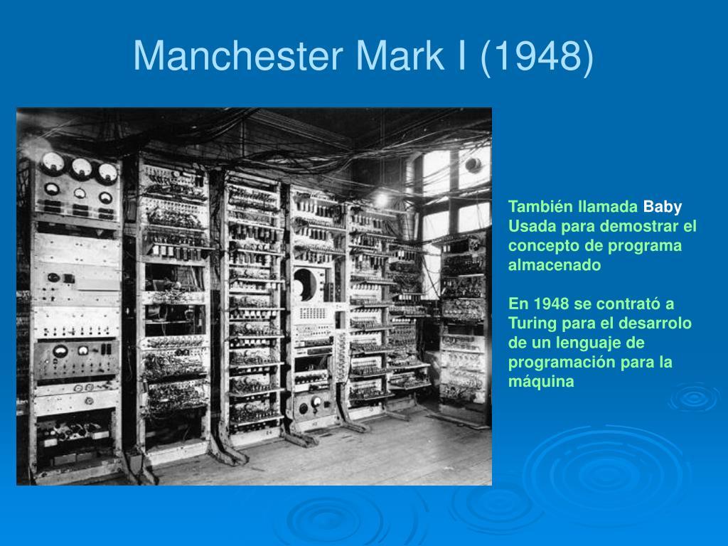 Manchester Mark I (1948)