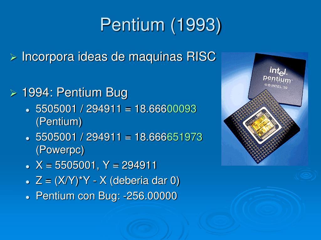Pentium (1993)