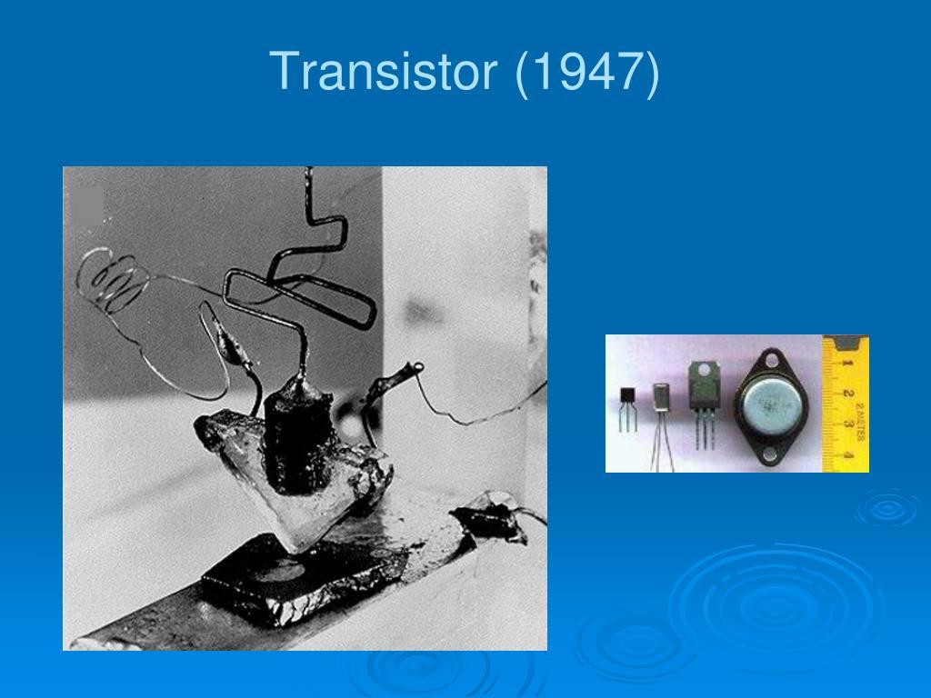 Transistor (1947)