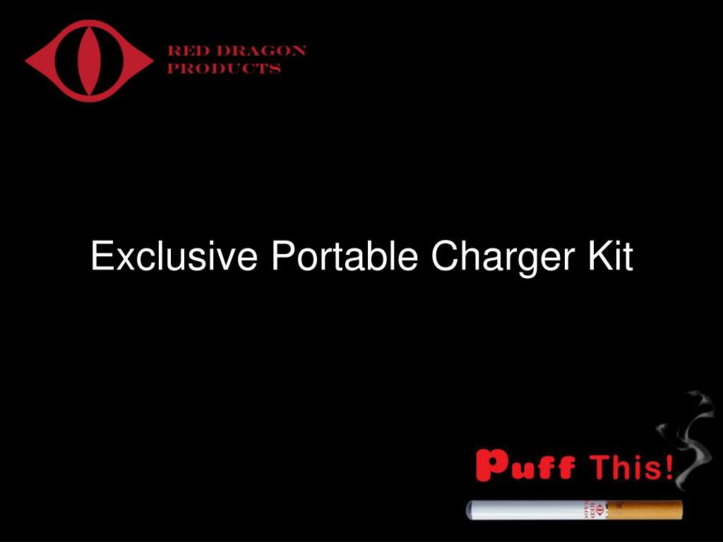 Exclusive Portable Charger Kit