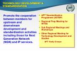 technology development standardization