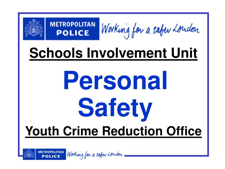 personal safety n.