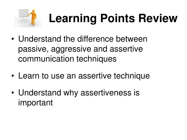 Learning Points Review