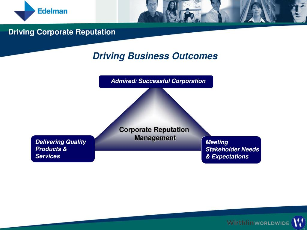Admired/ Successful Corporation