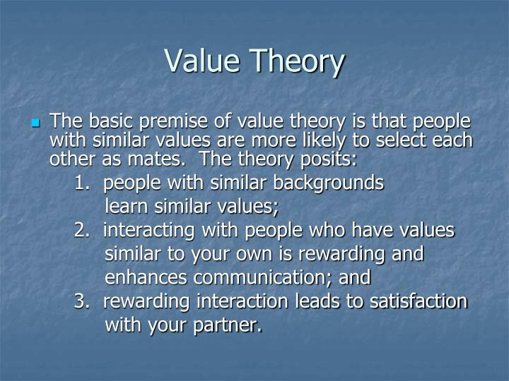theory of values crossvergence The subjective theory of value is a doctrine of value which advances the idea that the value of a good is not determined by any inherent property of the good, nor by the amount of labor required to produce the good.